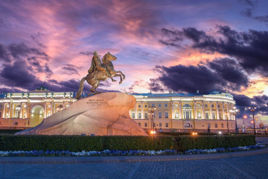 Белые ночи Петербурга
